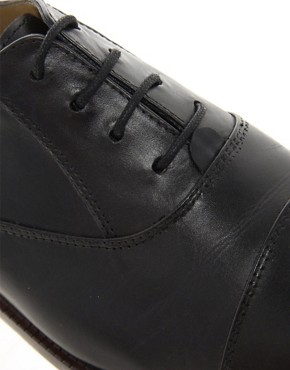 Image 2 ofASOS Shoes With Toe Cap Detail