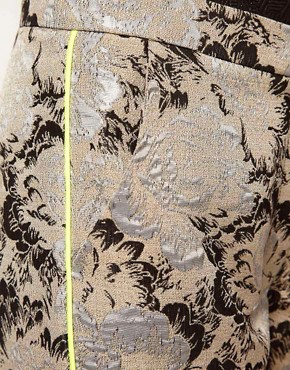 Image 3 of Lashes Of London Jacquard Trousers with Neon Piping