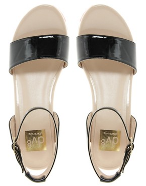 Image 3 ofDV8 Lilly Contrast Sole Heeled Sandals