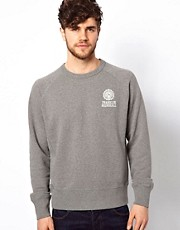 Franklin &amp; Marshall Crew Sweatshirt with Seal Logo