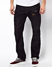 G-Star - Nattacc - Jeans dritti 3D grezzi