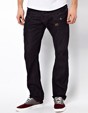 Image 1 ofG Star Jeans Nattacc Straight 3D Raw