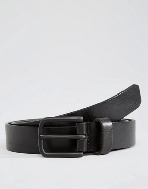Royal RepubliQ Legacy Leather Belt In Black