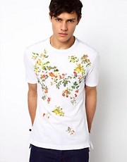 Vivienne Westwood Anglomania for Lee T-Shirt Floral Print