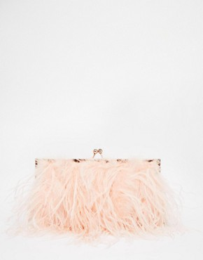 ALDO Fluffy Framed Clutch