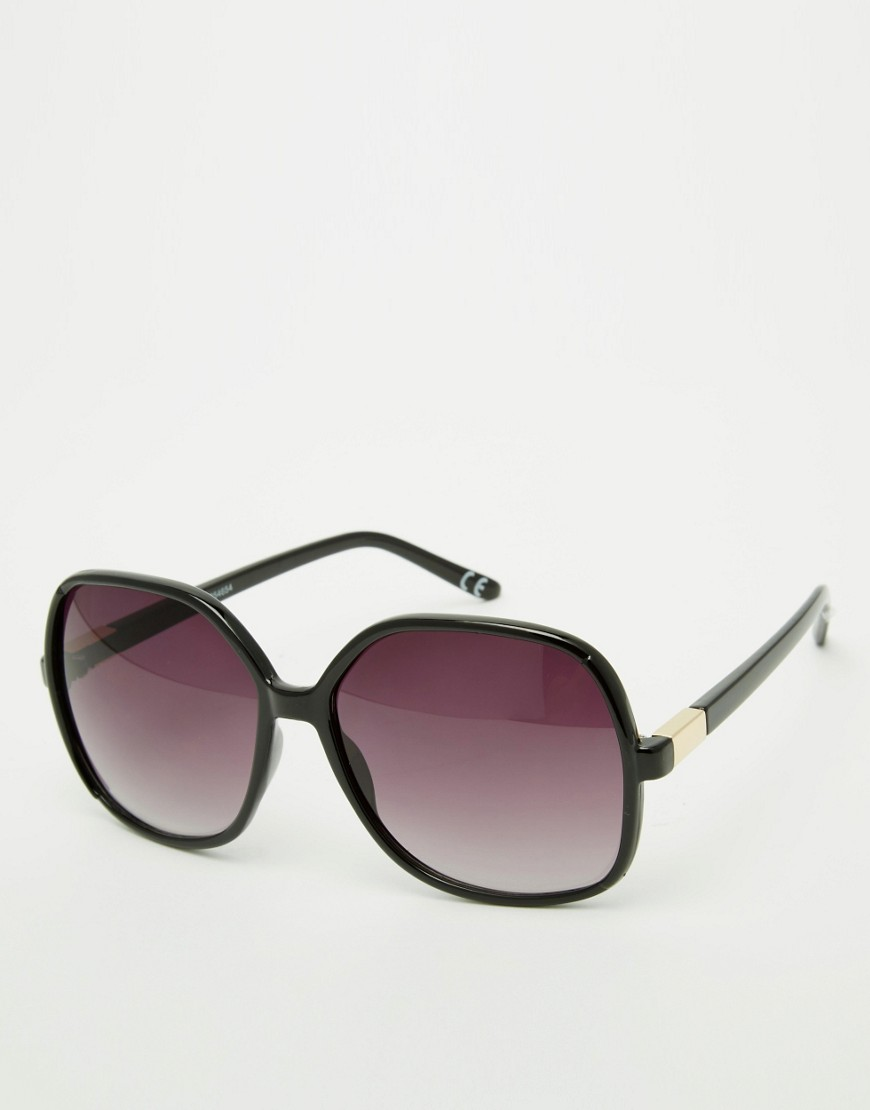 ASOS Oversized 70s sunglasses - Multi