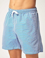 Hartford Stripe Swim Shorts