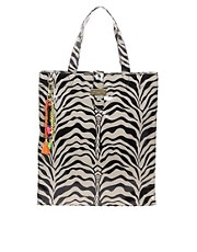 Paul&#39;s Boutique Zebra Matilda Shopper Bag