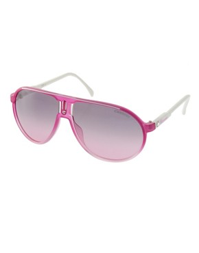 Image 1 ofCarrera Champion Fuchsia Aviator Sunglasses