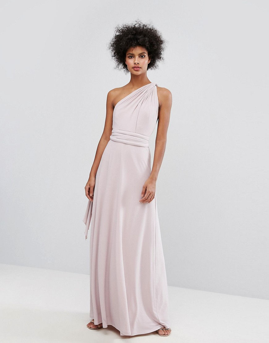 Coast Corwin Multi-Tie Maxi Dress - Blush