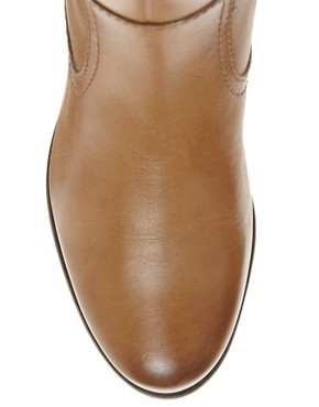 Image 4 ofASOS CHIEF Leather Knee High Boots