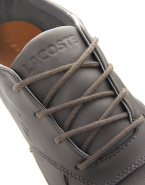 Image 2 of Lacoste Glendon Leather Trainers
