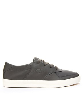 Image 4 of Lacoste Glendon Leather Trainers