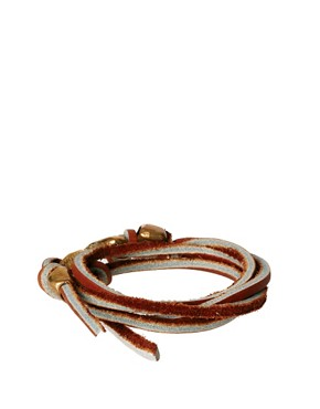 Image 2 ofNettie Kent Leather Wrap Bracelet