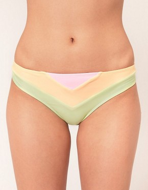 Image 1 ofTavik Pastel Rainbow Hipster Bikini Bottoms
