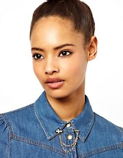ASOS Cross Collar Pins