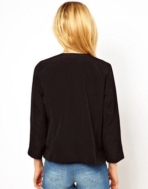 Image 2 ofASOS Cropped Soft Blazer