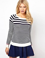 Oasis Fine Stripe Jumper