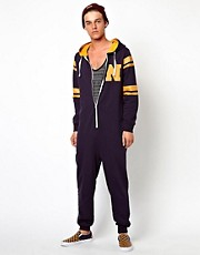 New Look Nerd Print Onesie