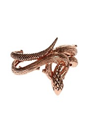 Wildfox Rose Gold Evil Snake Cuff Bracelet