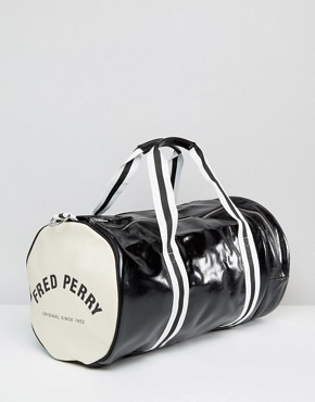 Image 2 ofFred Perry Classic Barrel Bag