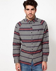 Levis Shirt Horizontal Stripe Flannel