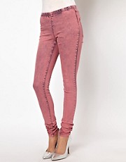 Vero Moda Acid Wash Jegging