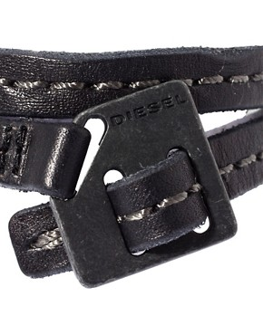 Image 4 ofDiesel Leather Bracelet