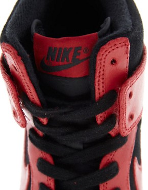 Image 2 ofNike Dunk Sky High Wedge Trainers