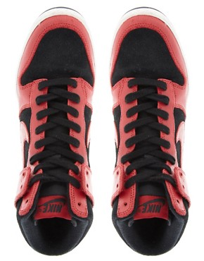 Image 3 ofNike Dunk Sky High Wedge Trainers