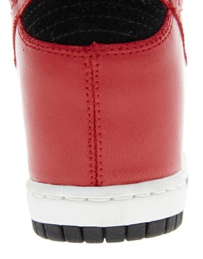 Image 4 ofNike Dunk Sky High Wedge Trainers