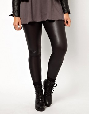 Image 4 ofASOS CURVE Exclusive Matte Legging