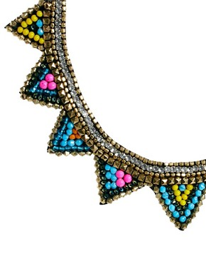 Image 4 ofASOS Triangle Bib Necklace