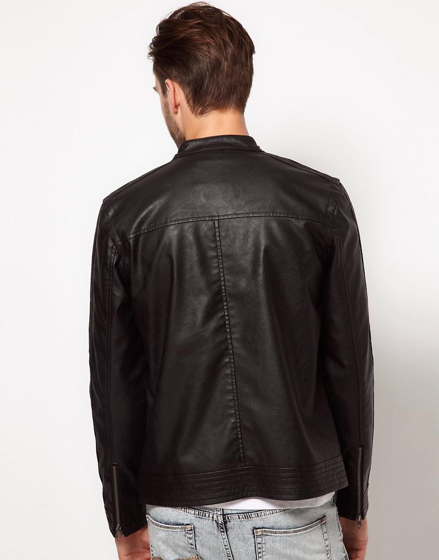 Image 2 ofASOS Faux Leather Jacket