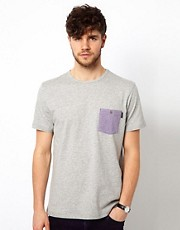 Paul Smith Jeans - T-shirt con tasca a contrasto