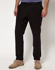 Farah Vintage Slim Trouser in Wool Mix