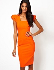 Hybrid Dress with Frill Sleeves