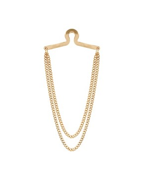 Image 1 ofASOS Over The Button Tie Chain