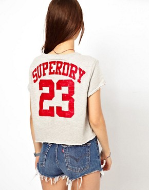 Image 2 ofSuperdry Jpn Boxy Crew Neck T-Shirt