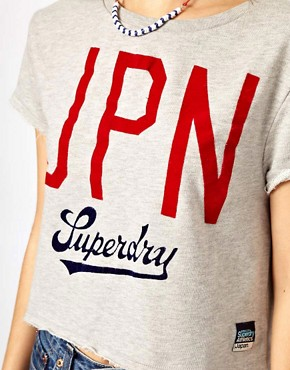 Image 3 ofSuperdry Jpn Boxy Crew Neck T-Shirt