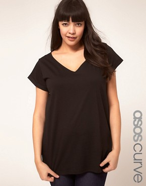 Image 1 ofASOS CURVE Forever T-Shirt