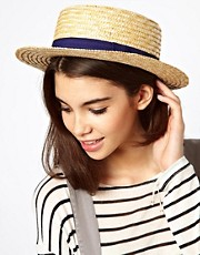 ASOS Straw Boater