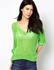 American Vintage Loose Knitted Sweater