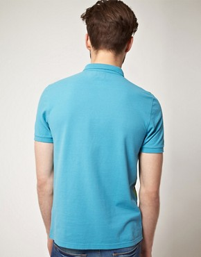 Image 2 of ASOS Polo With Hawaiian Print