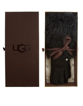 Image 3 ofUGG Long Pile Shearling Cuff Gloves