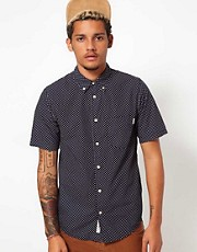 Carhartt Shirt Dots Short Sleeve Print