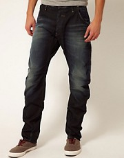 G-Star Jeans Loose Tapered Pale Vintage Aged