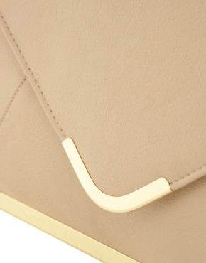Image 2 ofASOS Metal frame Clutch Bag