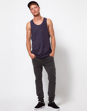 Image 4 ofASOS BLACK x Puma Racer Back Vest
