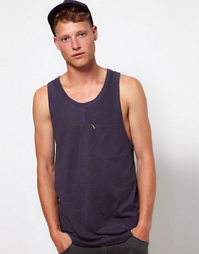 Image 1 ofASOS BLACK x Puma Racer Back Vest